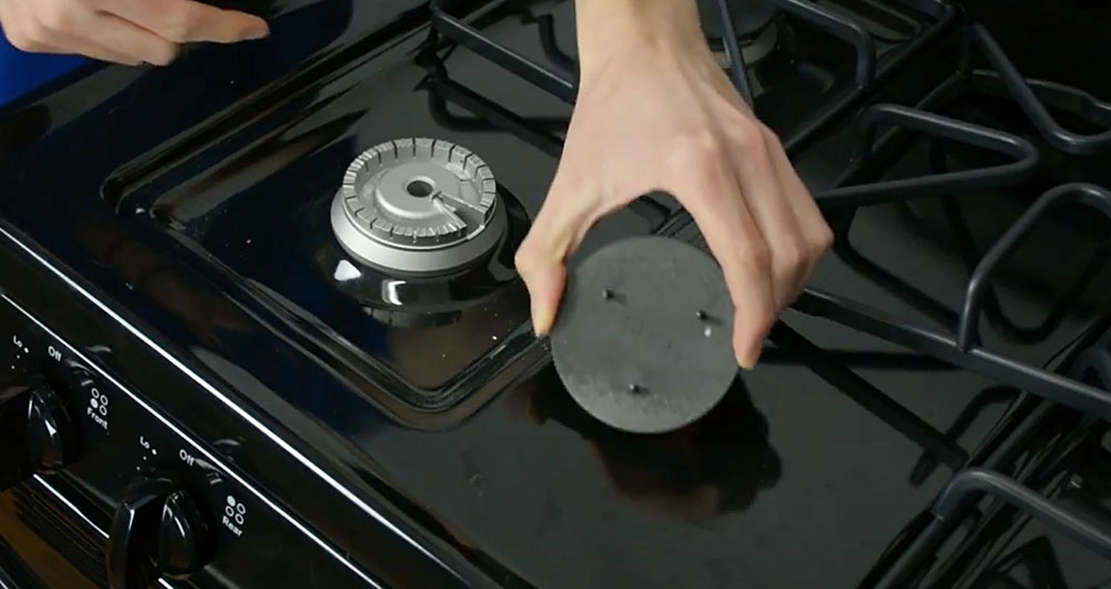 Keep Your Gas Range Burners Clean